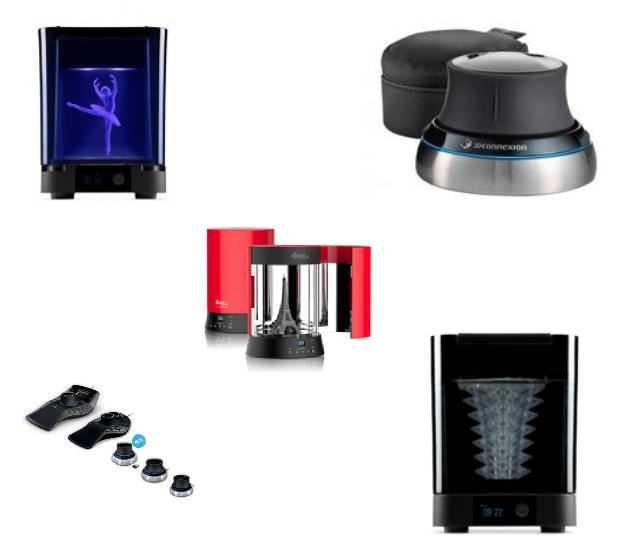 Аксессуары для 3D принтеров