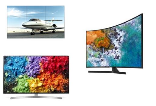 Профессиональные панели и телевизоры
