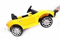 Электромобиль Ferrari O222OO желтый