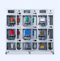 9 - 3D принтеров на одном каркасе WINBO VERTICAL 9 UNITS