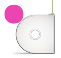 Картридж 3D Systems Cube ABS, розовый
