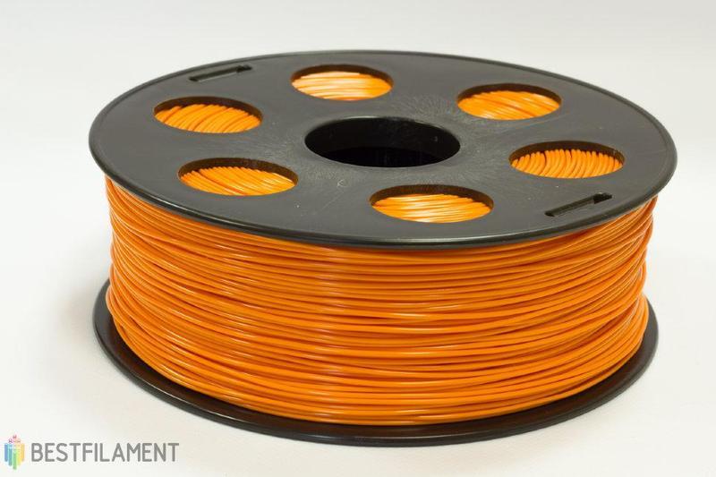 ABS пластик Bestfilament 1.75 мм для 3D-принтеров 1 кг, оранжевый