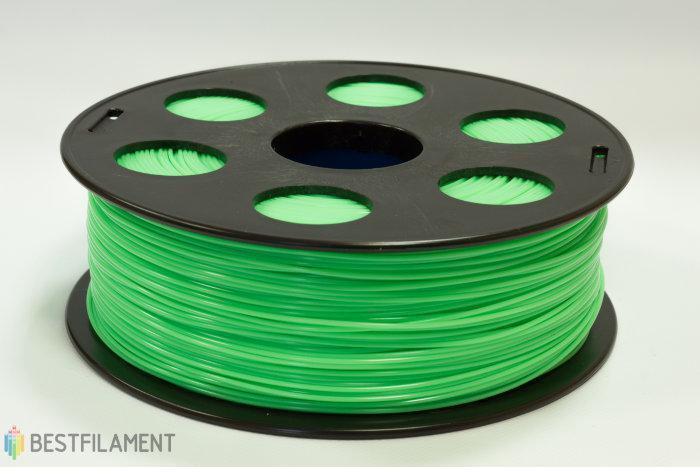 PLA пластик Bestfilament 1.75 мм для 3D-принтеров, 1 кг салатовый
