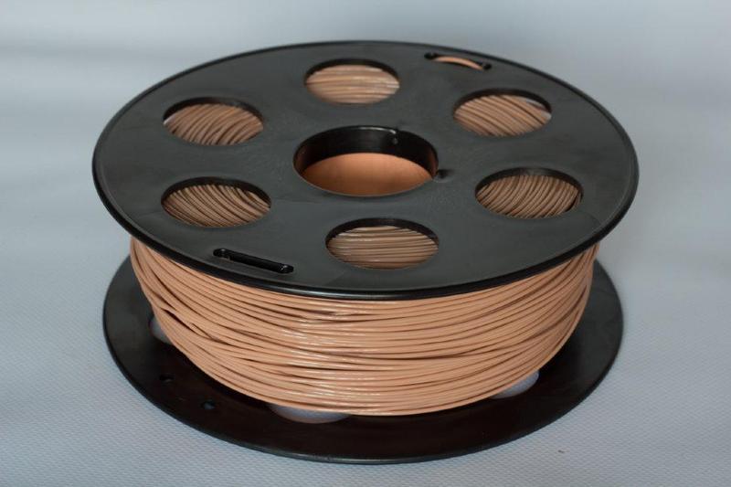 PLA пластик Bestfilament 1.75 мм для 3D-принтеров, 1 кг коричневый