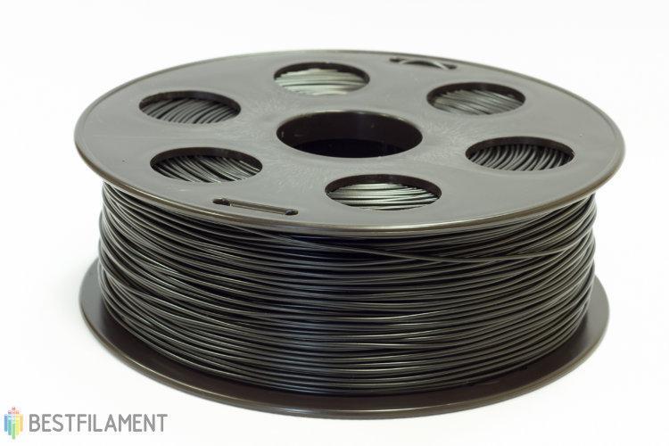 PLA пластик Bestfilament 2.85 мм для 3D-принтеров, 1 кг черный
