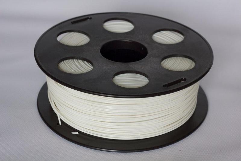 HIPS  пластик  Bestfilament для 3D-печати 1 кг, белый