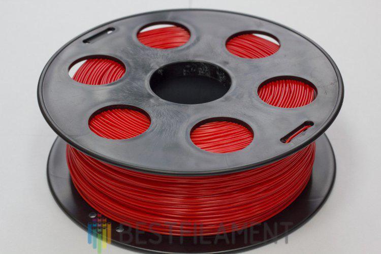PLA пластик Bestfilament 1.75 мм для 3D-принтеров, 1 кг красный