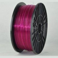 Катушка PLA-пластика Wanhao 1.75 мм 1кг., прозрачно-пурпурная, No. 43