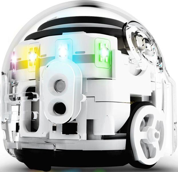 Умный обучающий робот Ozobot Evo White, продвинутая версия, цвет белый