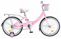 "Велосипед NOVATRACK Girlish Line 16"" (2019)"