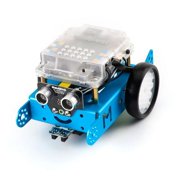 Электронный конструктор Makeblock Mechanical Kit 90053 Синий робот 1.1 (Bluetooth-версия)