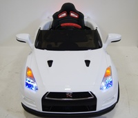 Электромобиль Nissan GTR X333XX белый