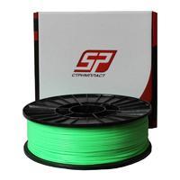 ABS + пластик Стримпласт 1.75 мм для 3D-принтеров 0,8 кг / зеленый люминисцентный
