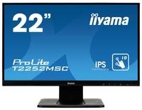 """Интерактивный 22"""" сенсорный широкоформатный монитор Iiyama T2252MSC-B1"""