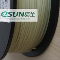 Катушка пластика PLA Esun 1.75 мм (1 кг) люминесцентная зеленая