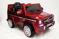 Электромобиль Mercedes-Benz-G-65-LS528 красный глянец