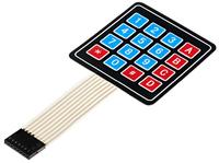 Клавиатура 4×4 кнопки