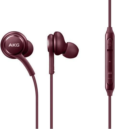 Наушники Samsung Earphones Tuned by AKG (Бургунди)