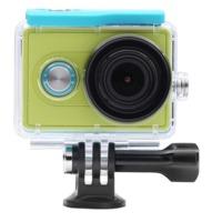 Водонепроницаемый чехол для экшн камеры Xiaomi Yi Green