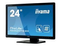 """Интерактивный 24"""" сенсорный широкоформатный монитор Iiyama T2452MTS-B5"""