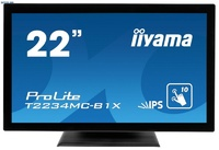 """Интерактивный 22"""" сенсорный широкоформатный монитор Iiyama T2234MC-B3X"""