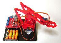 Конструктор - робот манипулятор с контроллером Ардуино