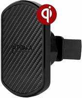 Автомобильное зарядное устройство Pitaka Qi Vent (Черный)