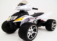 Электроквадроцикл Е005КХ белый
