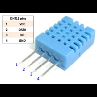 DHT-11 Датчик температуры и влажности