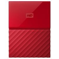 Внешний жесткий диск WD 4Tb WDBUAX0040BRD-EEUE My Passport 2.5 (Красный)