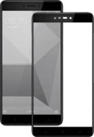 Защитное стекло LuxeCase 3D для Xiaomi Redmi Note 4 / Note4x с процессором MediaTech (С черной рамкой)