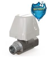 Моторизованный шаровый кран 3/4'' (ДУ20мм) Аквасторож-20 Эксперт ТК41