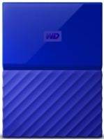 Внешний жесткий диск WD 1Tb WDBBEX0010BBL-EEUE My Passport 2.5 (Синий)