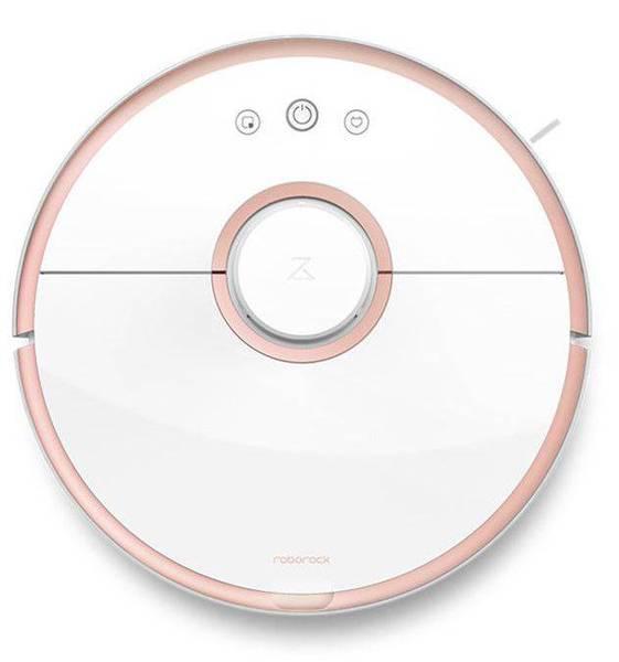 Робот-пылесос Xiaomi Mi Roborock Sweep One (Розовое Золото)