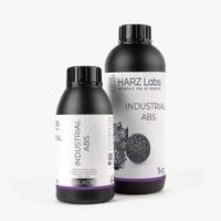 Фотополимер HARZ LABS Industrial ABS для 3D принтеров LCD/DLP 0.5 л