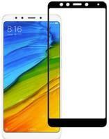 Защитное стекло 2D для Xiaomi Redmi 5 (С черной рамкой)