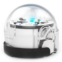 Умный обучающий робот Ozobot Bit Crystal White, версия для начинающих, цвет белый
