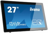 """Интерактивный 27"""" сенсорный широкоформатный монитор Iiyama T2735MSC-B2"""