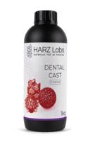 Фотополимер HARZ LABS Dental Cast для 3D принтеров SLA/Form2 1 л Вишневый