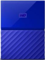 Внешний жесткий диск WD 4Tb WDBUAX0040BBL-EEUE My Passport 2.5 (Синий)