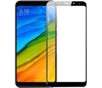 Защитное стекло 2D для Xiaomi Redmi Note 5 (С черной рамкой)
