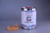Фотополимерная смола Gorky Liquid Dental Model LCD (1 кг) персиковая