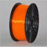 Катушка PLA-пластика Wanhao 1.75 мм 1кг., прозрачно-оранжевая, No. 42