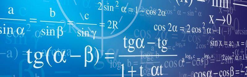 Комплект таблиц по математике демонстрационный - Алгебра