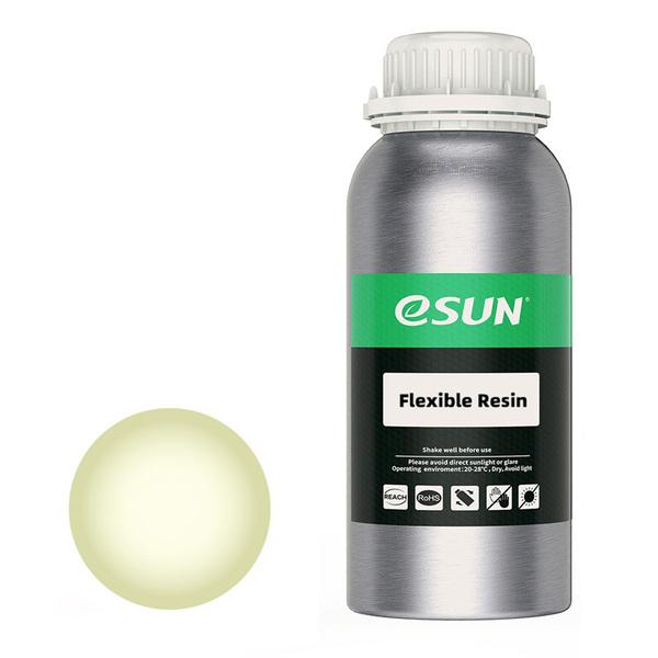 Фотополимерная смола ESUN Flex (0.5 кг) прозрачно-желтая