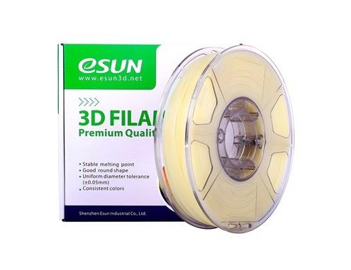Катушка пластика eSmooth Esun 1.75 мм (0.5 кг) натуральная