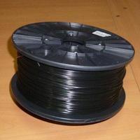 Катушка PLA-пластика Wanhao 1.75 мм 1кг., черная, No. 34