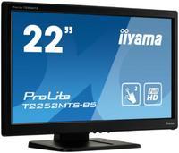 """Интерактивный 22"""" сенсорный широкоформатный монитор Iiyama T2252MTS-B5"""