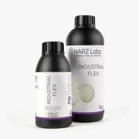 Фотополимер HARZ LABS Industrial FLEX для 3D принтеров LCD/DLP 0.5 л