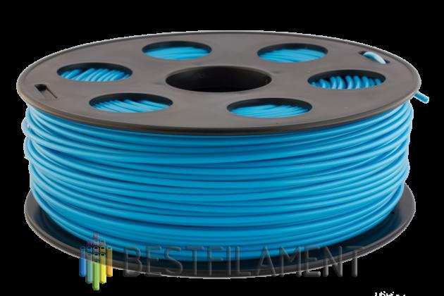 PLA пластик Bestfilament 2.85 мм для 3D-принтеров, 1 кг, голубой